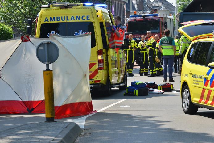 Jonge fietser zwaargewond bij ongeval met tractor in Breda