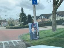 Laatste posters van JA21 inmiddels ook weg uit Tilburg