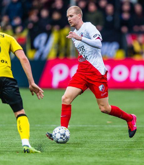 Gustafson is plots de leider van FC Utrecht, maar de rustige Zweed blijft zichzelf