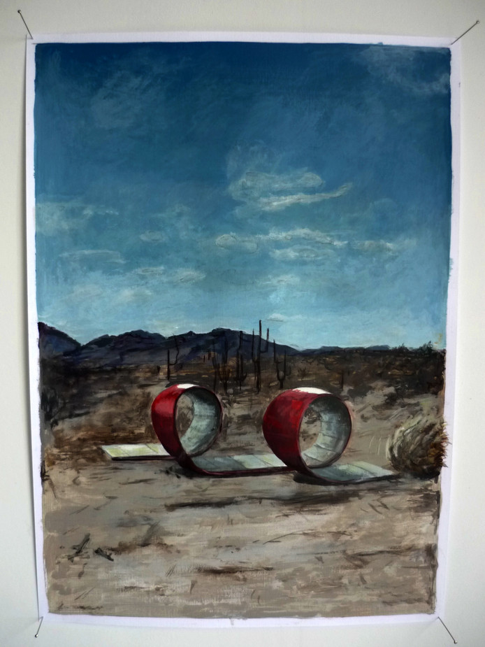 Werk van Toni van Tiel.