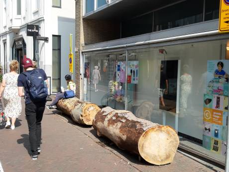 Verbazing in Deventer na opvallende maatregel in centrum: 'Dat heb ik nog nooit gezien'