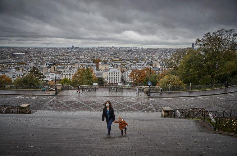 Frankrijk is sinds vrijdag 30 oktober opnieuw in lockdown. Beeld Getty Images