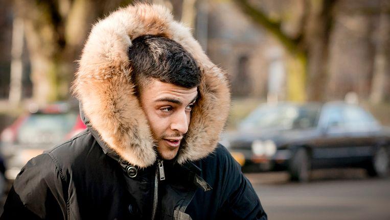 Rapper Boef toen hij begin dit jaar voor de politierechter moest verschijnen.
