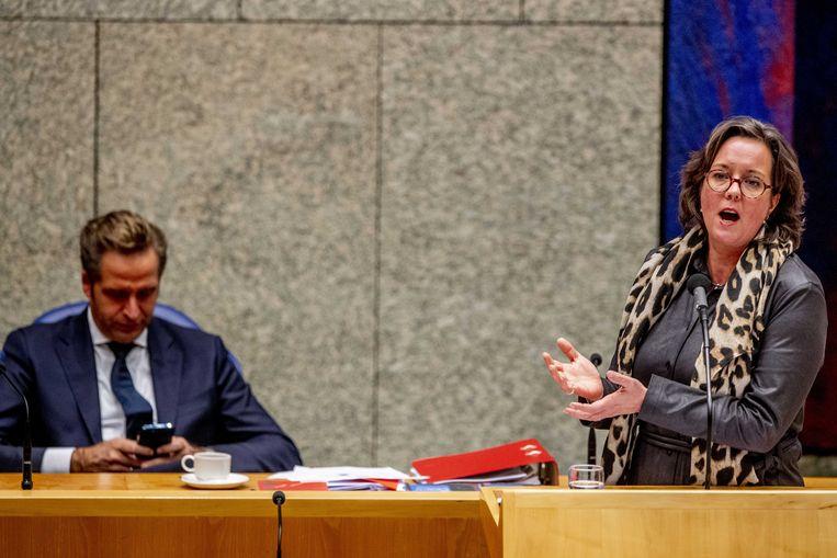 Minister Tamara van Ark .  Beeld ANP