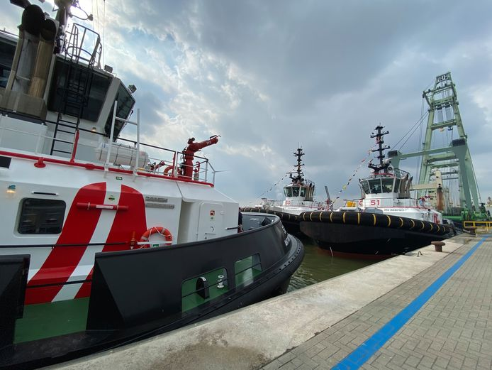 Port of Antwerp breidt vloot uit met energie-efficiënte sleepboten.