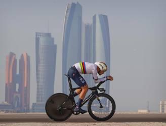 Ganna maakt favorietenrol waar in individuele tijdrit UAE Tour, Pogacar nieuwe leider