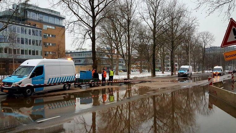 Sinkhole Schipluidenlaan Beeld -