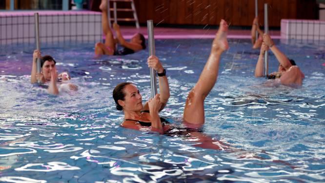 Paaldansen onder water: sexy, energiek en heel wat anders dan de schoolslag met een badmuts op