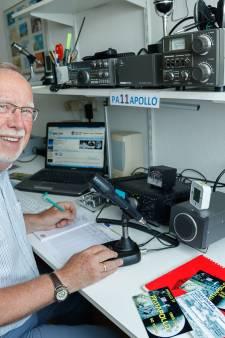 'Radiozendamateurs maakten meeluisteren maanlanding mogelijk'