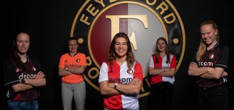 Brabantse voetbalsters met Feyenoord de eredivisie in