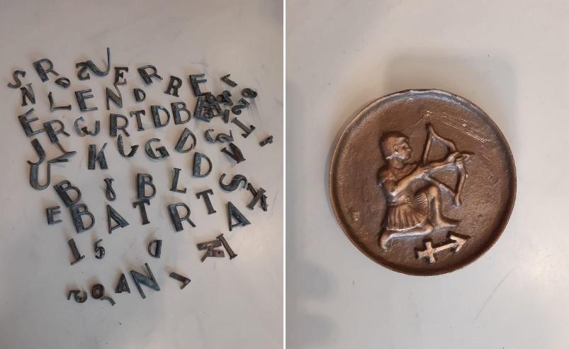 De gestolen voorwerpen van de Enschedese begraafplaats