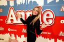Eveline Hoste op de première van de musical 'Annie'