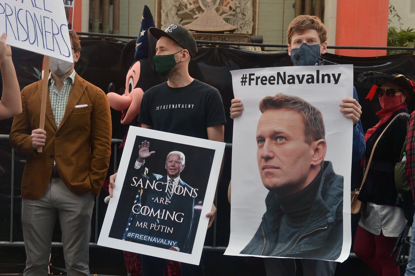 Volgens Rusland namen diplomaten uit Duitsland, Polen en Zweden deel aan demonstraties voor de gevangen Russische oppositieleider Navalny.