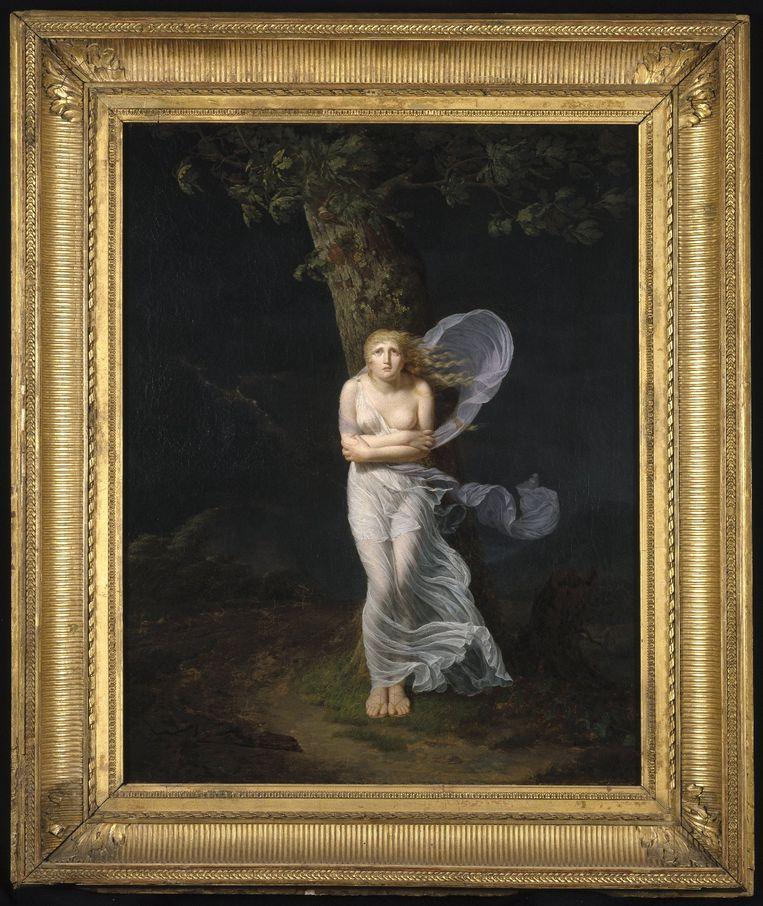 Féréol Bonnemaison, portret van een jonge vrouw  Beeld Féréol Bonnemaison