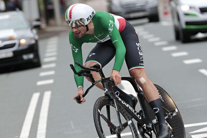 Quadruple champion du monde de poursuite et champion d'Italie du chrono, Filippo Ganna aimerait tenter de battre le record de l'heure de Victor Campenaerts.