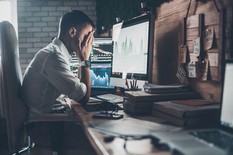 Agilitas becijferde dat bijna driekwart van de ongelukkige werknemers effectief geen stappen naar een nieuwe job zet. Beeld Shutterstock