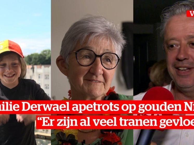 "Familie Derwael apetrots: ""We gaan nog een feestje bouwen"""
