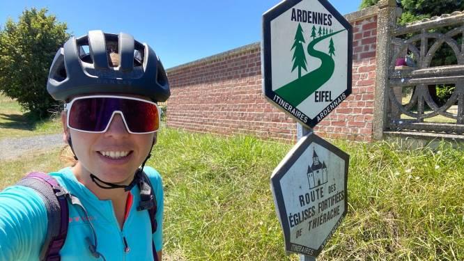 Aniek (34) fietste door België en Noord-Frankrijk: '395 euro kwijt voor twee weken'
