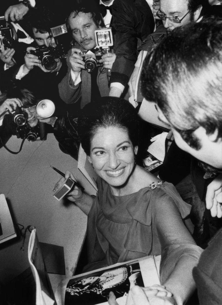 Krug-lover: Maria Callas. Beeld AFP