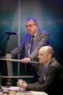 Tilburg, 31 januari 2019Presentatie rapport Chroom 6 in WillemII-stadion. Commissieleider Van der Velden presenteert het rapportfoto: Dolph Cantrijn