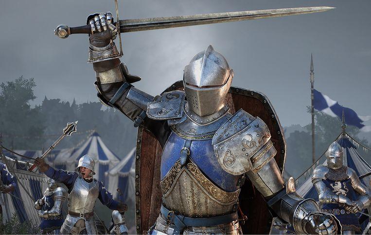 Chivalry 2 is slechts losjes gebaseerd op de Middeleeuwen. Beeld Torn Banner