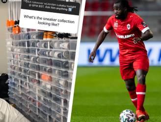 """Jordan Lukaku showt ferme collectie sneakers op Instagram en heeft het over zijn favoriete jeugdclub: """"Ik supporterde voor de Fransen bij Arsenal"""""""