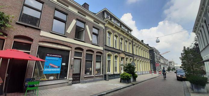 Inja strijkt neer aan de Willem II-straat, het pand uiterst links. De voormalige lijstenmakerij.
