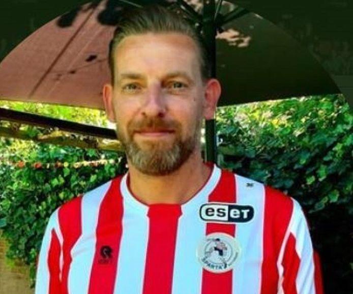 Peter van der Zwan, voorzitter van Vereniging 'De Sparta Supporter.