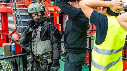 Zoals in de film: geen paniek, het is maar een terreuroefening