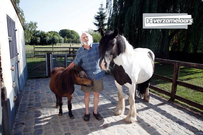 Carry Goossens met zijn paarden