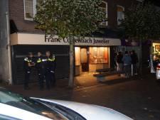 Geschoten bij overval op juwelier in Waalwijk, twee eigenaren vastgebonden en mishandeld