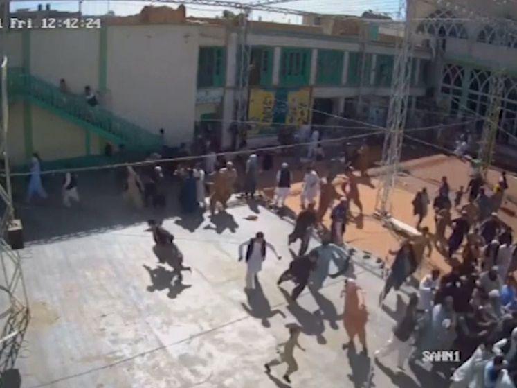 Schokkende beelden vrijgegeven van aanslag moskee Kandahar