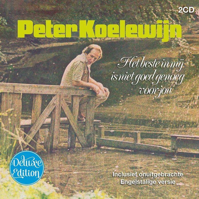 Het album 'Het beste in mij is niet goed genoeg voor jou' van Peter Koelewijn is verschenen in een deluxe editie.