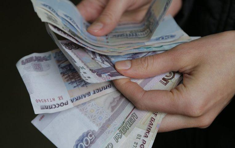 Russische roebels. Beeld reuters