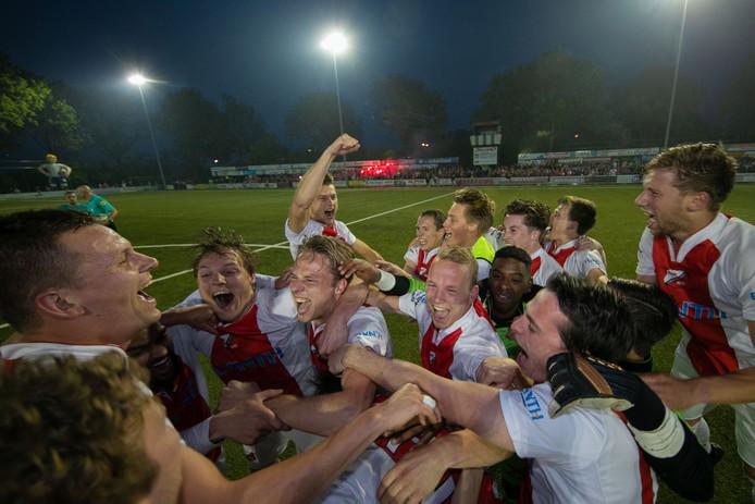 Flevo Boys won afgelopen seizoen het bekertoernooi in district noord.