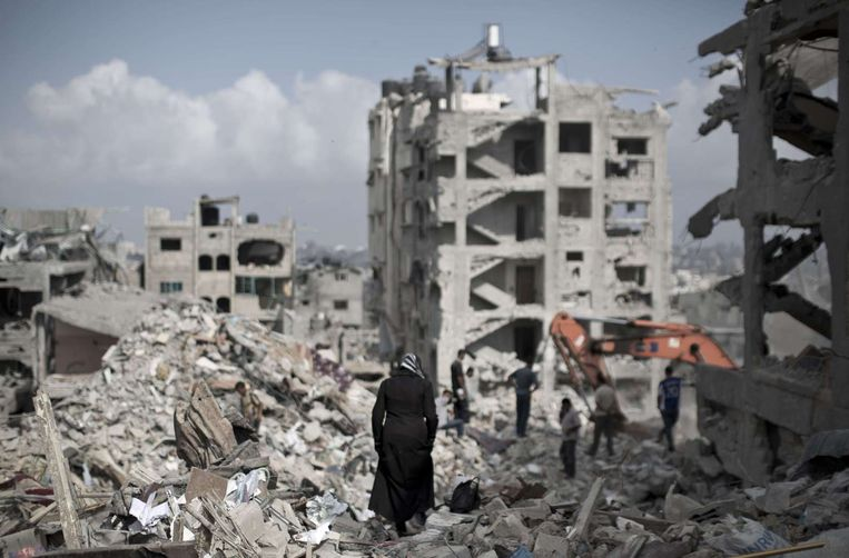 Gaza-stad. Beeld afp