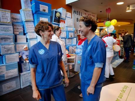 Werken én actievoeren tegelijkertijd in Gorcums Beatrixziekenhuis tijdens stakingsdag