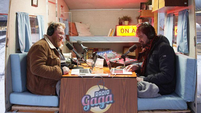 Radio Gaga - DOCU - (BelgiÎ - 2021) - Caption: Dominique Van Malder, Joris Hessels Beeld VRT