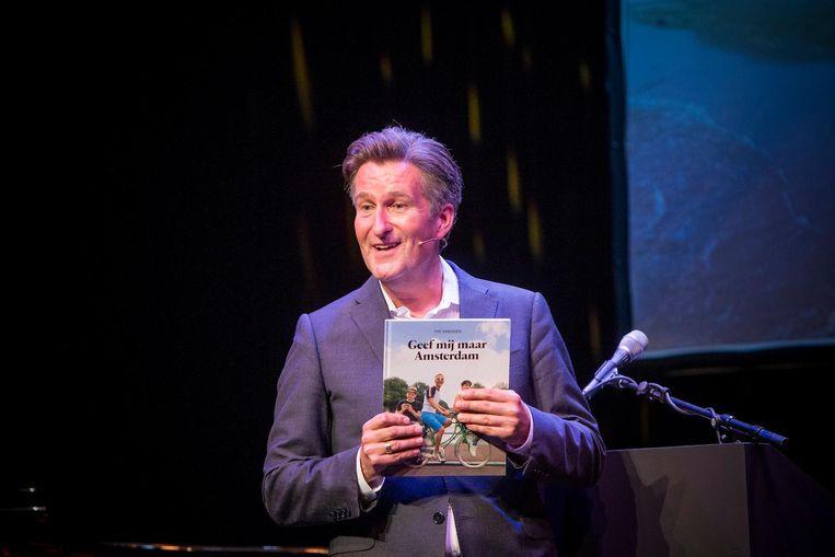 Nederland, Amsterdam, 11-09-2016 - COLUMNISTENAVOND. Columnistenavond van het Parool in de Kleine Komedie. Foto : Rink Hof Beeld null