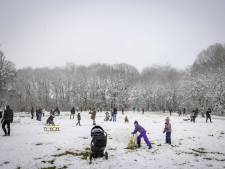 Minder druk in sneeuwgebied rond Vaals, (te) druk in natuur