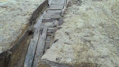 Loopgraaf ontdekt maar meteen ook weer ontmanteld