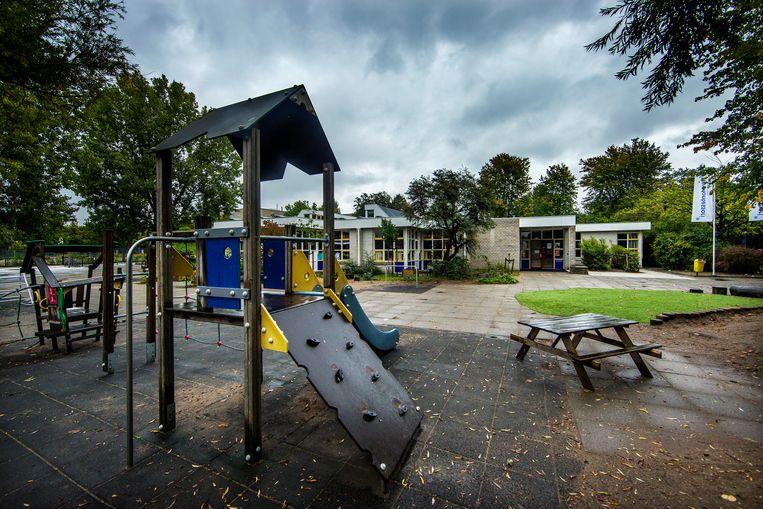Basisschool de 16e Montessori in Zuidoost sluit de deuren vanwege het lerarentekort. Beeld Jean-Pierre Jans