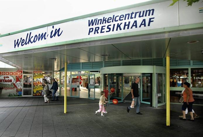 Winkelcentrum Presikhaaf in Arnhem.
