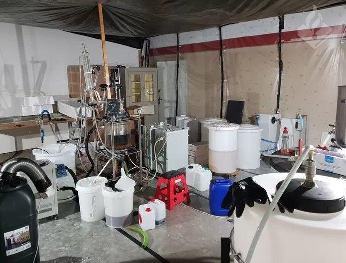 Archiefbeeld ter illustratie: Het ontmantelde drugslab in Voorburg