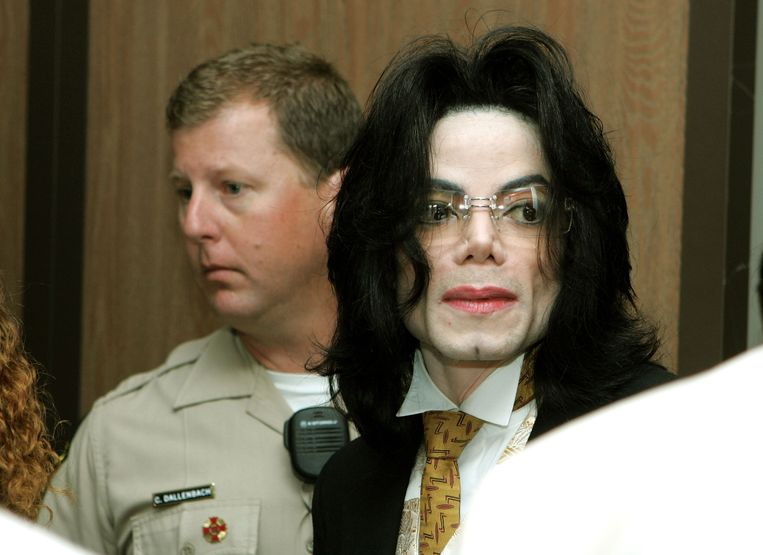 Michael Jackson Beeld Getty Images