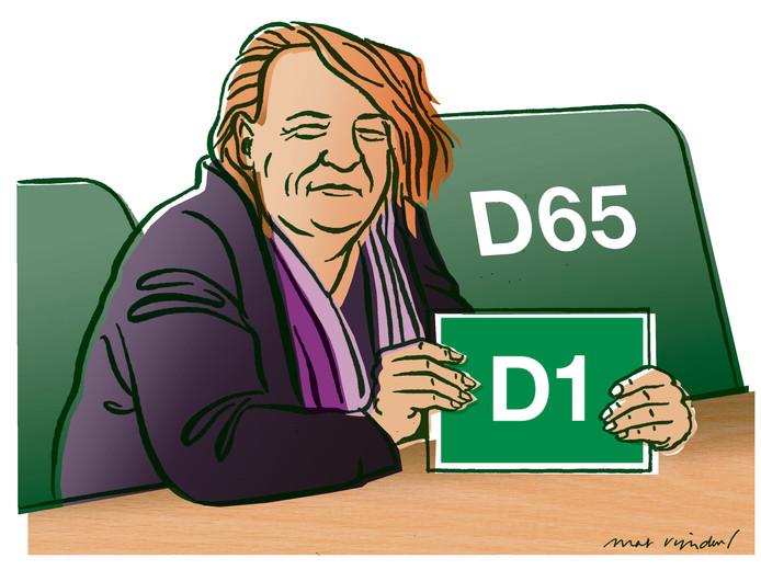 De fractie van D66 in de Eindhovense gemeenteraad is in twee delen uiteen gevallen.