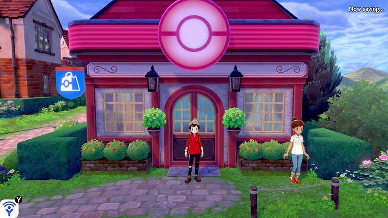 Pokémon Sword/Shield Beeld Nintendo