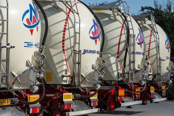 Transporteur Nijhof-Wassink is weer een stuk gorter gegroeid dankzij de overname van Belgische transportbedrijf Thuysbaert.