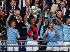 Manchester City pakt op Wembley in stijl de 'treble'