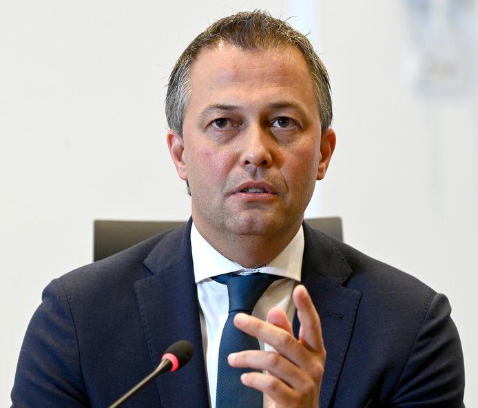 Egbert Lachaert, voorzitter van Open VLD.